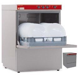 Lave-vaisselle panier 500x500mm + p. décharge