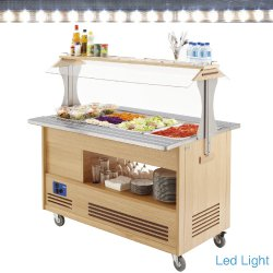 buffet réfrigéré, 4xGN1/1-150