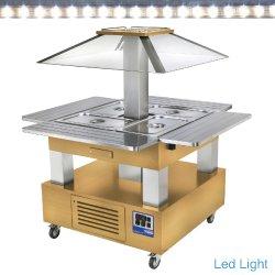 ilot buffet réfrigéré, 4xGN1/1-150