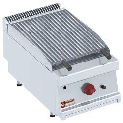 Grill pierre de lave gaz - 1/2 module