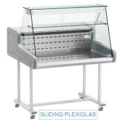 Comptoir réfrigéré vitre droite
