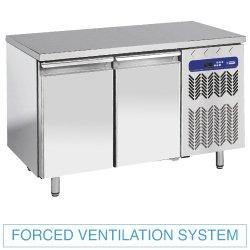 Table frigorifique vent. 2P GN 1/1, 260L