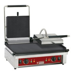 CONTACT-GRILL DOUBLE PLAQUE EMAILLEES