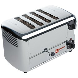 TOASTER (GRILLE-PAIN) EL.4 TRANCHES  SILVER