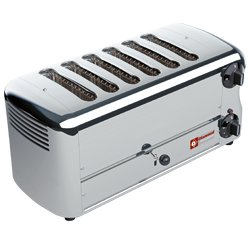 TOASTER (GRILLE-PAIN) EL.6 TRANCHES  SILVER