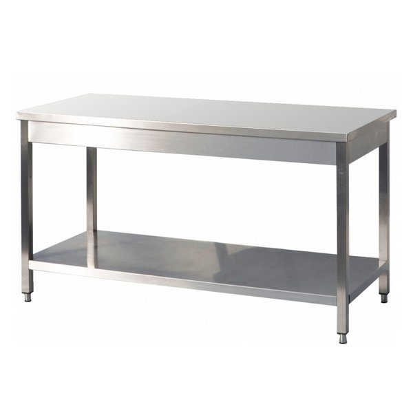 TABLE INOX 1M / 1M20 / 1M40 / 1M60 / 1M80 / 2M