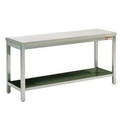 TABLE DE TRAVAIL 1M20, AVEC SOUS TABLETTE